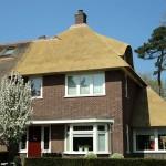 rietdekker Apeldoorn_Rieten dak - Villa Apeldoorn voorzijde